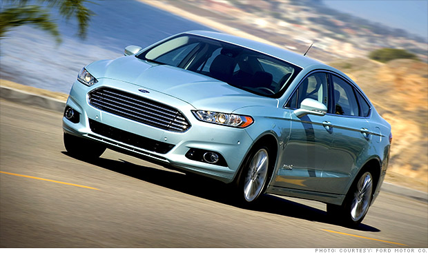 ford fusion recall