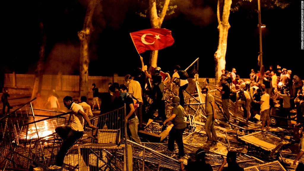 turkey stock market protests
