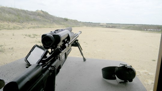 Yes, you can hack a high-tech rifle