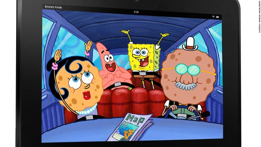 kindle spongebob squarepants