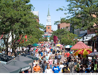 ten most entrepreneurial states vermont