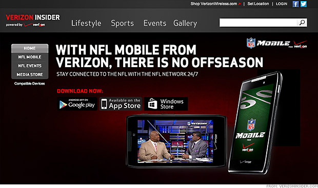 verizon nfl