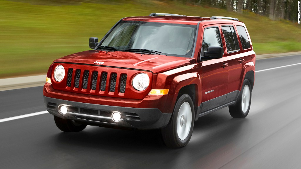 chrysler recall jeep patriot