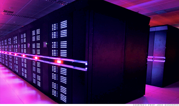 Supercomputers: China is No. 1