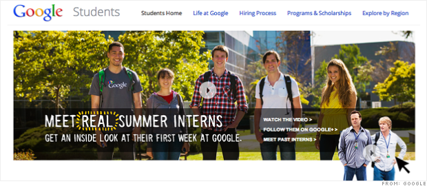 google intern