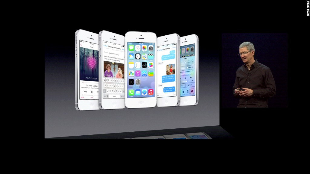 tim cook ios7 wwdc