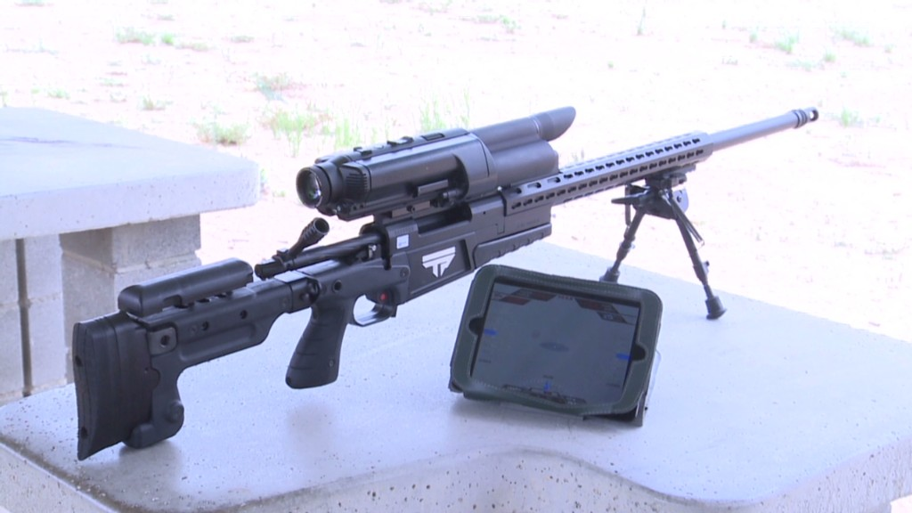 Smart rifle means hunters never miss