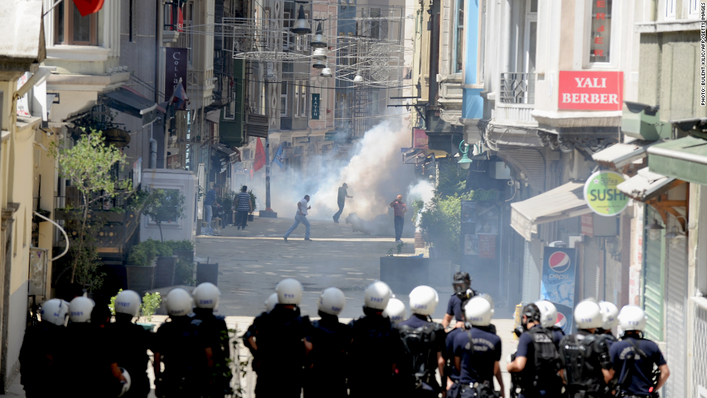 turkey unrest