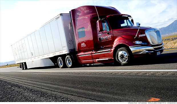 Truckers face big labor shortage