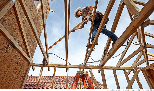 Builders say housing is back