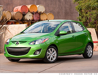 sub compact car mazda2 j d power top quality cars cnnmoney. Black Bedroom Furniture Sets. Home Design Ideas
