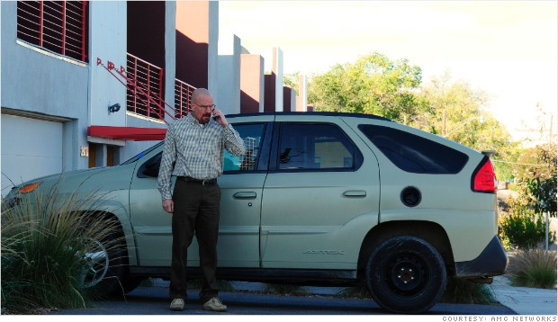 underappreciated cars pontiac aztek breaking bad