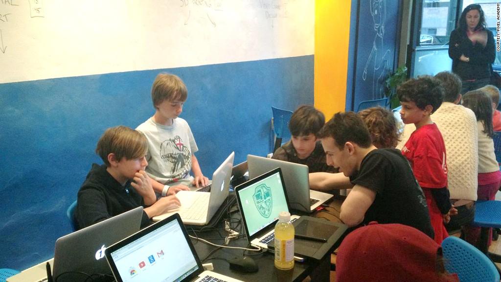 pixel academy 2