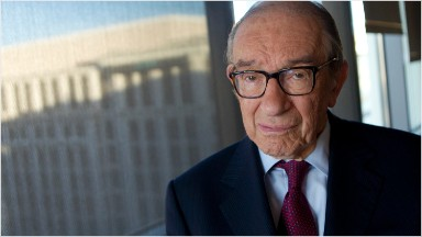 Alan Greenspan: 'We have a stock market bubble'