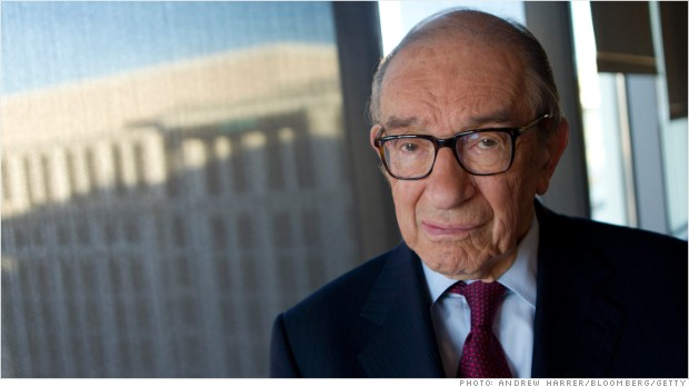 Don't believe Alan Greenspan's bullish case for stocks