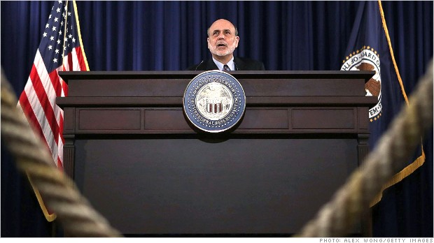 Fed sets road map for end of stimulus