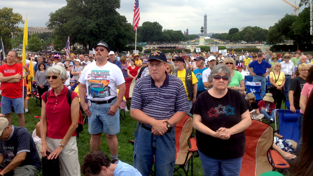tea party rally irs