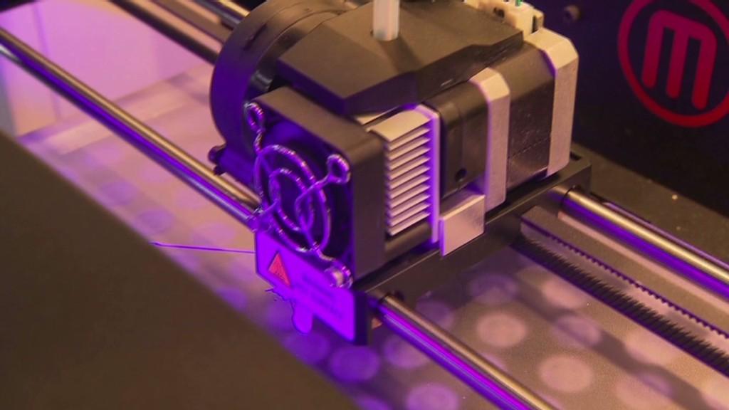 Printing up a 3-D merger
