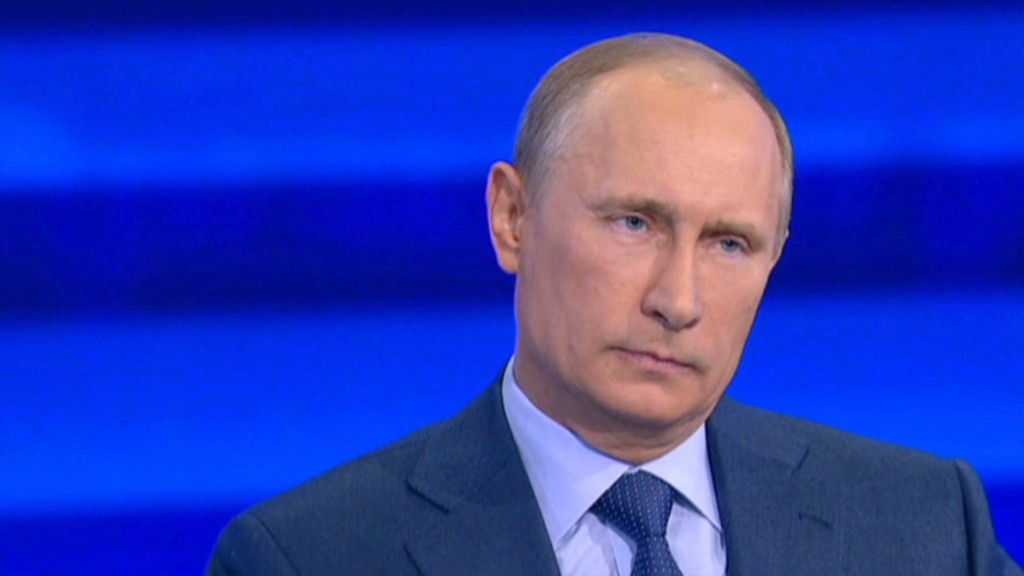 Who feels the pain from Putin's sanctions?