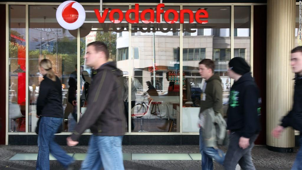 vodafone telecom store