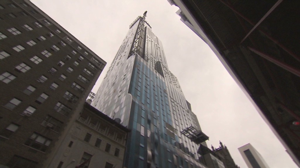Inside NYC's 'billionaires building'