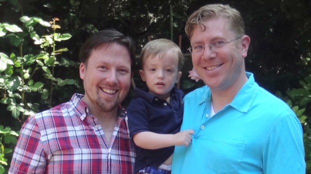 Same-sex couple: 'Freedom is priceless'
