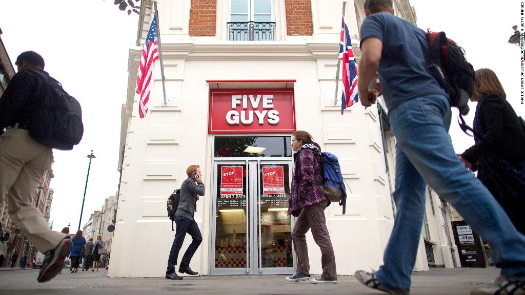 five guys london