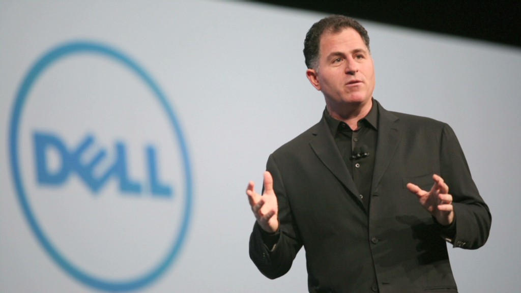 Michael Dell may be the Dell victor
