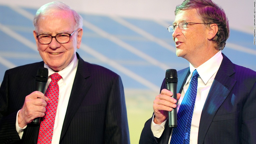 warren buffett donation gates foundation