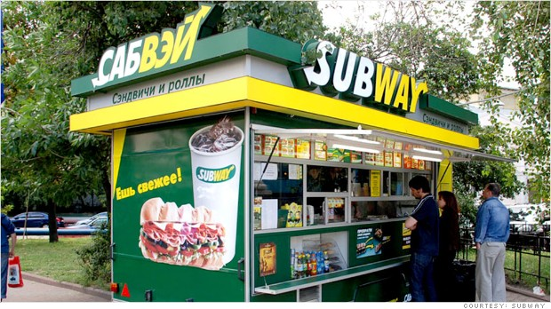 franchising foreigners subway