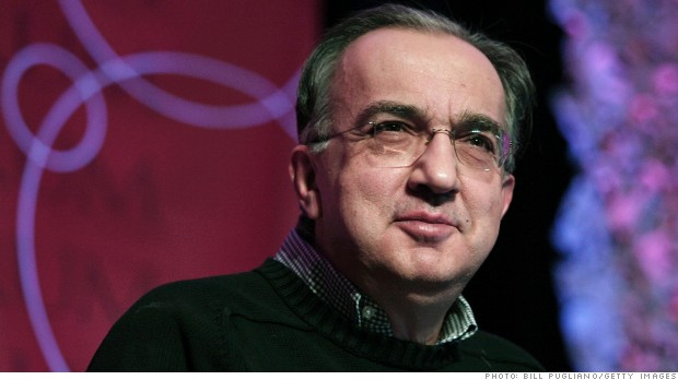 sergio marchionne chrysler