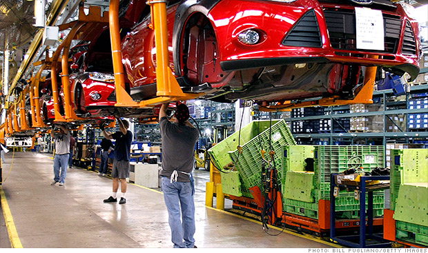 initial claims automotive factory