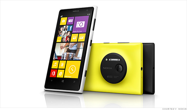 Nokia lastly has its truthful Windows Phone successor Nokia's Lumia 1020 packs a crazy 41-megapixel camera