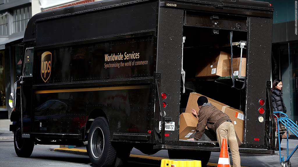 ups lowers guidance