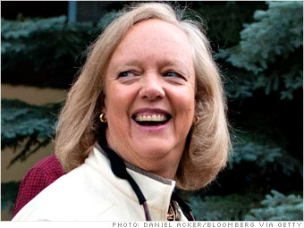 one million salary meg whitman