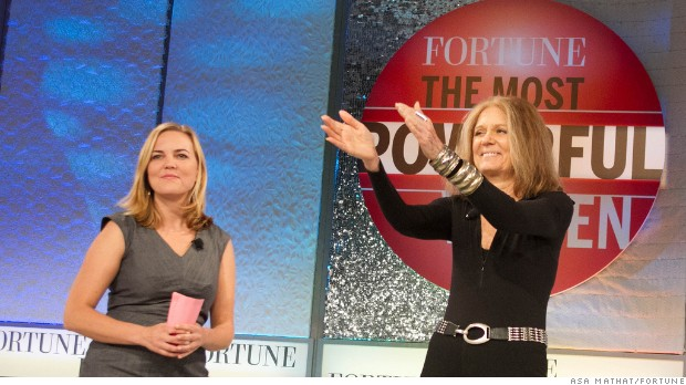 How Gloria Steinem changed the business world