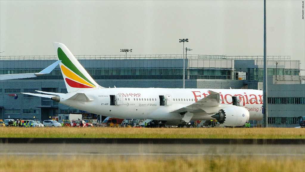 ethiopian airlines fire