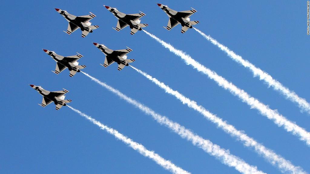 thunderbirds air force