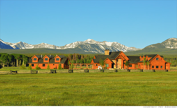 The diamond ranch montana million dollar ranches for for Montana ranch house