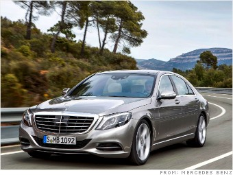 The new top of the line mercedes s class closest thing for Mercedes benz top of the line