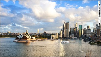 most expensive places expats sydney