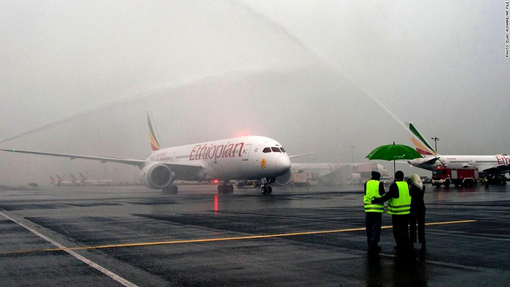 ethiopian airlines dreamliner