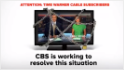 CBS blackout looms for Time Warner Cable customers