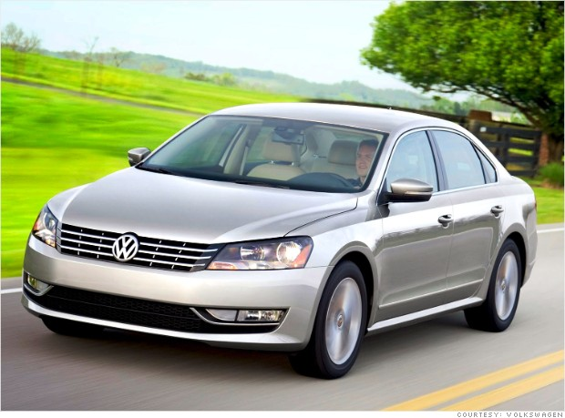 jd power apeal volkswagen passat