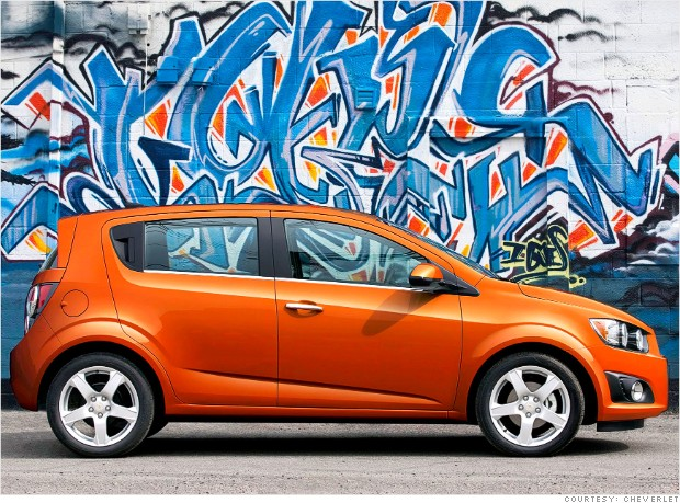 jd power apeal chevrolet sonic