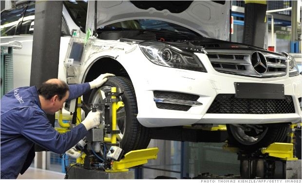 german auto factory