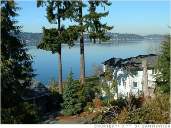 best places top earning sammamish washington