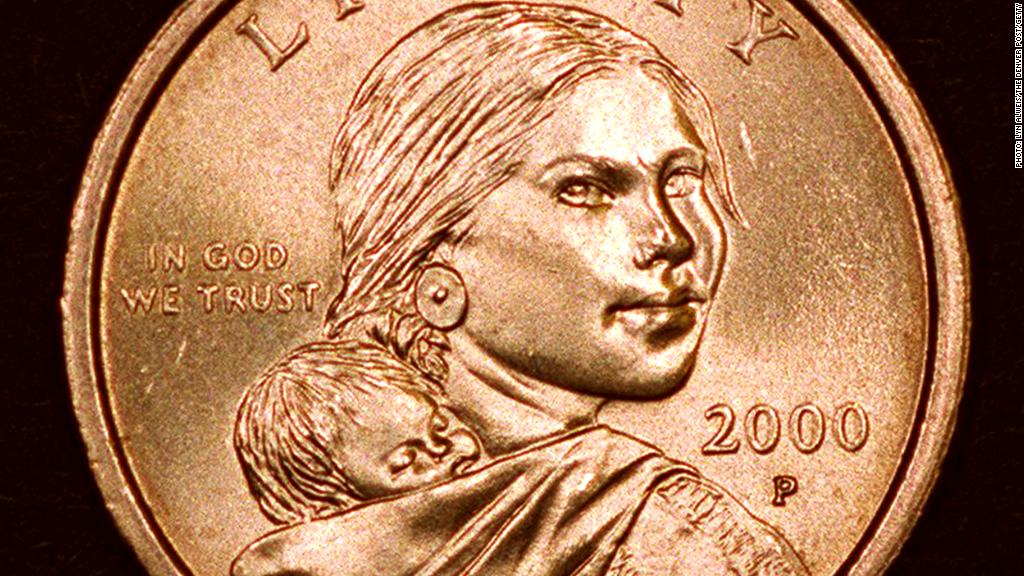 Sacagawea coin dollar