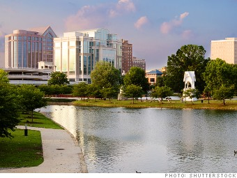 best places job growth huntsville alabama