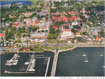 best places job growth st. augustine florida